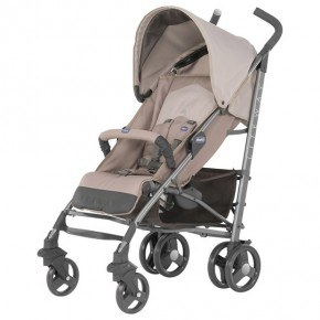 Chicco New Lite way 2017 - Sand Klapvogn