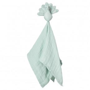Cam Cam Påfugle Sutteklud - Blue Mist