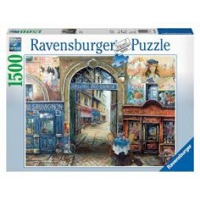 Ravensburger -  Passage to Paris (1500 pcs) Puslespil