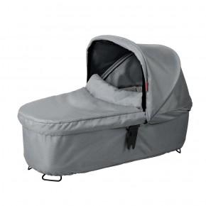 Phil & Teds Dash Snug Carrycot - Grey Marl