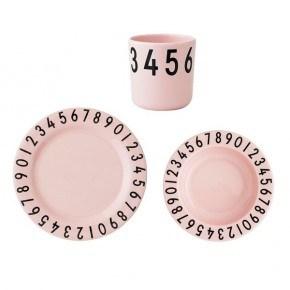 Design Letters Servicesæt - Pink