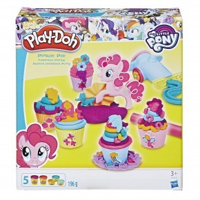 Play-Doh Modellervoks Pinkie Pie Cupcake party