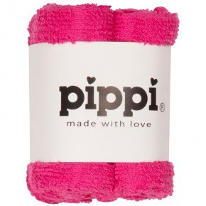 PIPPI Vaskeklude 4-pak - Pink