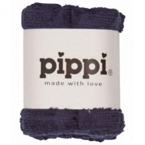 Dark Navy 4-pak vaskeklude - Pippi