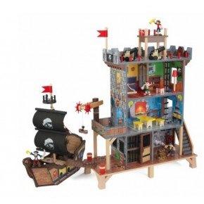 Kidkraft Pirat skjulested og skib