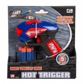 Air Blaster Soft bullet Pistol m 5 pile