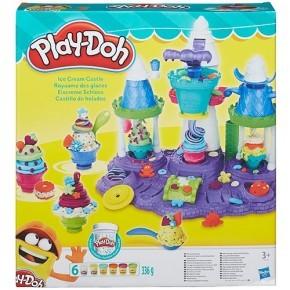 Play-Doh Modellervoks sæt, Ice Creme Castle