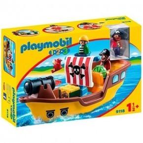 Piratskib (9118) - Playmobil 1.2.3