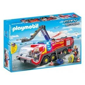 Lufthavns brandbil m. lys og lyd (5337) - Playmobil