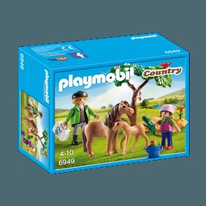 Ponymor med føl (6949) - Playmobil