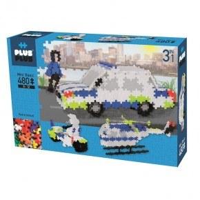 Plus Plus Mini 3i1 Police - Basic