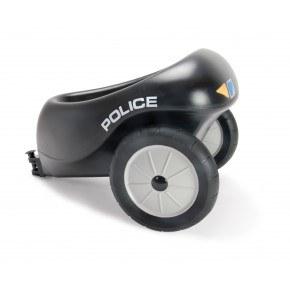 Dantoy Anhænger til Politiscooter med gummihjul
