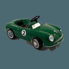 Ride ons Porsche 356 GT, grøn - pedalbil