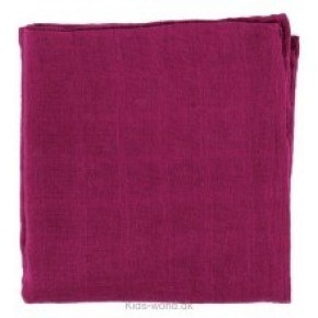 Dark red stofble 70 x 70 cm - Pippi