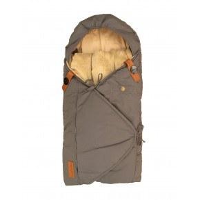 Sleepbag kørepose - grå/brun