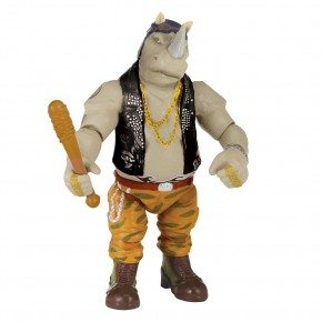Turtles - Rocksteady Plastfigur