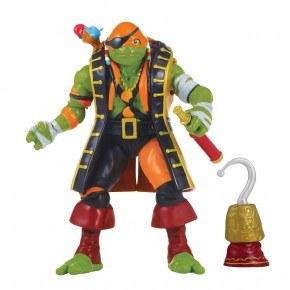 Turtles - Michelangelo i pirat forklædning Plastfigur