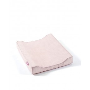 Smallstuff Puslehynde med blademotiver - Lys rosa