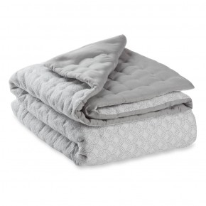 Emmibaby Quilted Babytæppe -  Dusty Grey