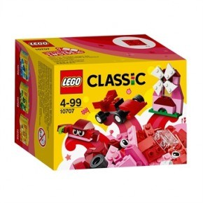Rødt kreativitetssæt - Lego