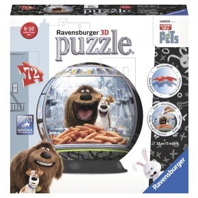 Ravensburger - Secret Life of Pets (72 pcs)