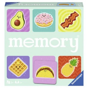 Ravensburger Foodie Favorites memory spil - 72 kort