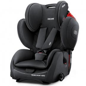 Recaro Young Sport Hero Autostol - Performance Black (Til sele montering) - DEMO