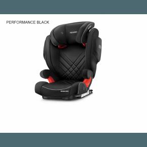 RECARO Monza Nova 2 Seatfix Autostol - Performance black (Til isofix montering)