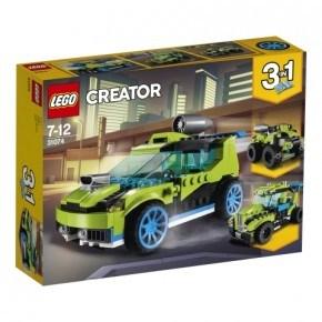LEGO CREATOR - Raketrallybil - 31074