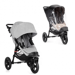 Baby Jogger City Elite Single Slate + Regnslag