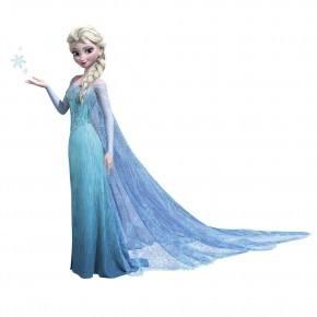 Roommates wallstickers - Gigant Frost Elsa, Glitter