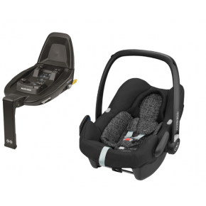 Maxi-Cosi Rock i-size inkl. Babyfix base - Black grid