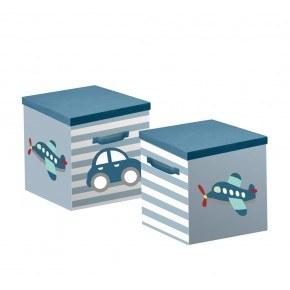 Flexa Opbevaringsbokse 2 stk - Transportation