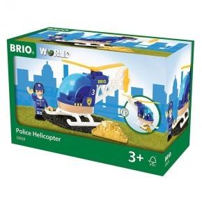 BRIO Politihelikopter - 33828