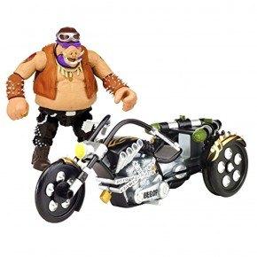 Turtles - Bebop med motorcykel