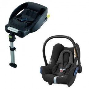 Maxi Cosi CabrioFix - Nomad Black med Easyfix base