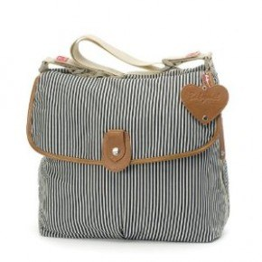 Babymel SATCHEL - NAVY STRIPE