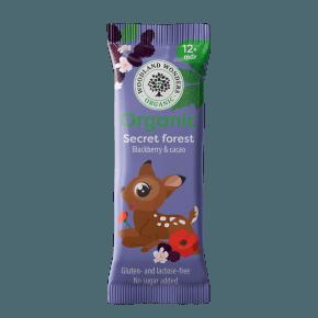 Woodland Wonders - Økologisk snackbar med kakao & brombær