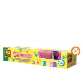 SES Creative fingermaling med glimmer
