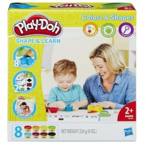Play-Doh Shape & Learn Colors And Shapes Modellervoks