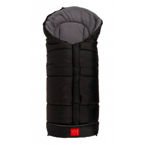 Kaiser, Iglu Thermo Fleece Kørepose - Sort/Grå