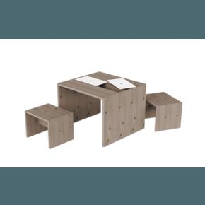 Flexa - Bordsæt m. opbevaring