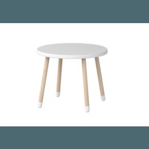 Flexa Play - Rundt bord, Hvid