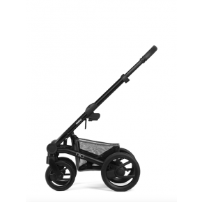 NIO Frame - Sort m. sorte hjul og grå håndtag