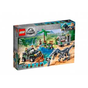LEGO Jurassic World Baryonyx Kamp - 75935