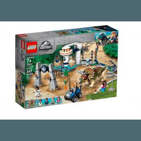 LEGO Jurassic World Triceratops Ravage - 75937