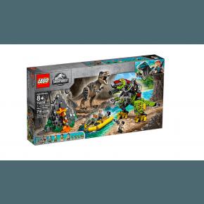LEGO Jurassic World T-rex mod Dinorobot - 75938