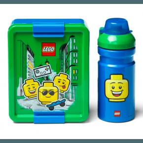 LEGO Madkasse og drikkedunk - Iconic Boy