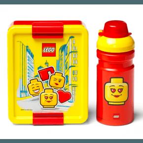 LEGO Madkasse og drikkedunk - Iconic girl