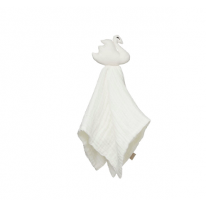 Cam Cam nusseklud Muslin Swan - Off white